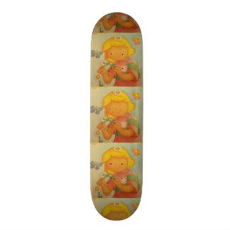 imagem de menina skates