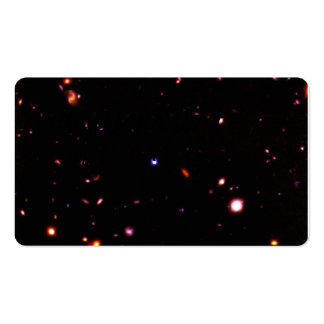 Imagem de NICMOS de galáxias fracas Cartão De Visita