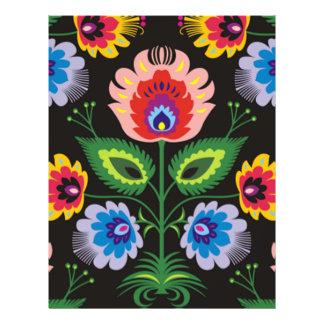 imagem de painel floral modelo de panfletos
