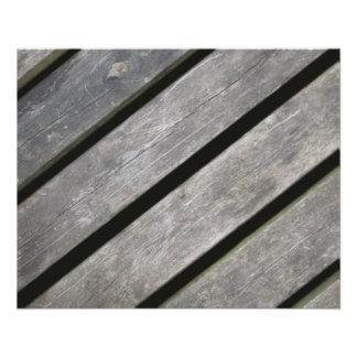 Imagem de pranchas resistidas da madeira flyer 11.43 x 14.22cm