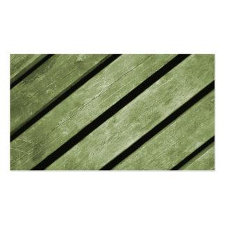 Imagem de pranchas verdes da madeira modelos cartao de visita