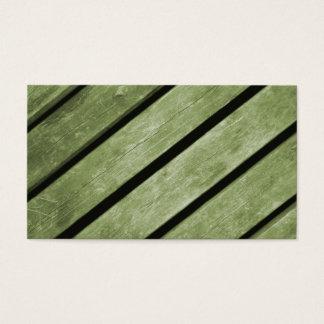 Imagem de pranchas verdes da madeira cartão de visitas