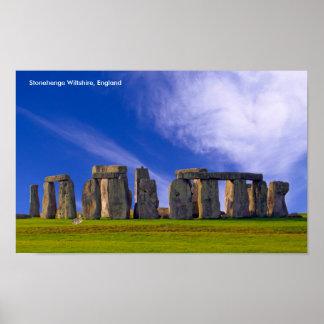 Imagem de Stonehenge para o poster