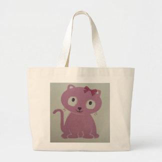 imagem de um gato bolsas para compras