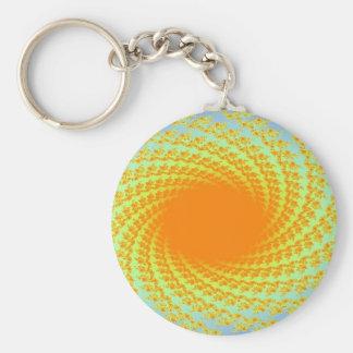 imagem de um sol chaveiros