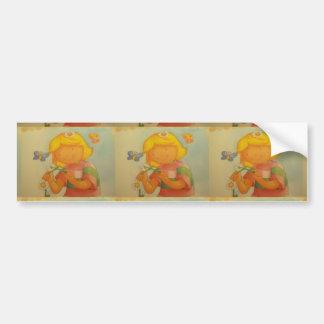 imagem de uma menina adesivo