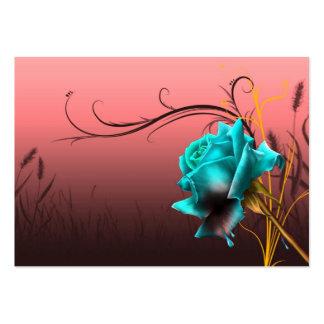 imagem de uma rosa cartão de visita grande