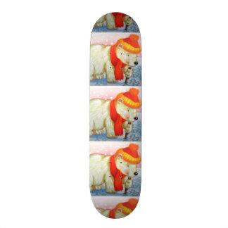 imagem de urso skate