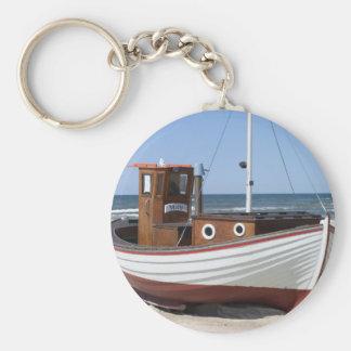 Imagem do barco de pesca chaveiro