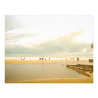 Imagem do beira-mar de Goa