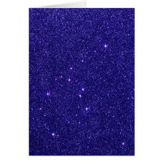 Imagem do brilho azul na moda cartoes