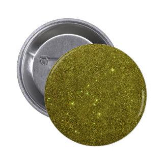 Imagem do brilho do amarelo esverdeado botons