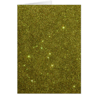 Imagem do brilho do amarelo esverdeado cartão comemorativo