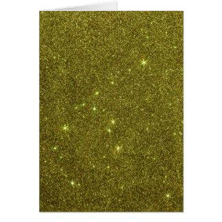 Imagem do brilho do amarelo esverdeado cartão de nota