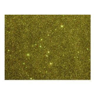 Imagem do brilho do amarelo esverdeado cartão postal
