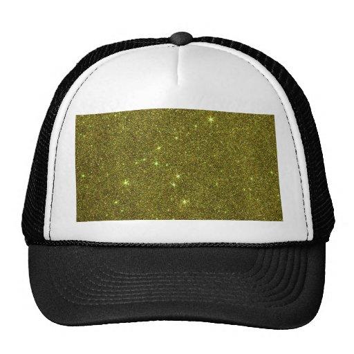 Imagem do brilho do amarelo esverdeado boné