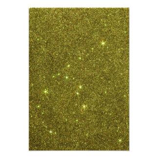 Imagem do brilho do amarelo esverdeado convites