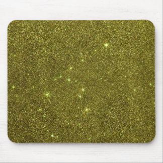 Imagem do brilho do amarelo esverdeado mouse pad