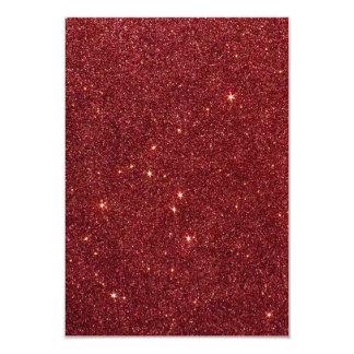 Imagem do brilho vermelho na moda convite