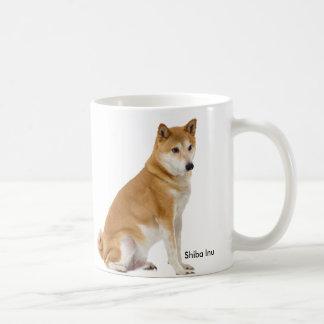 Imagem do cão para a caneca branca clássica