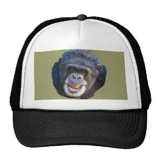 Imagem do chimpanzé boné
