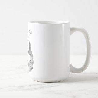 Imagem do cozinheiro chefe do urso de panda caneca de café