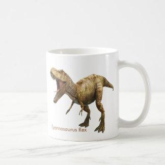Imagem do dinossauro para a caneca branca clássica