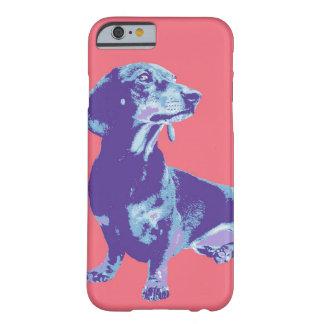 Imagem do divertimento dos animais de estimação em capa barely there para iPhone 6
