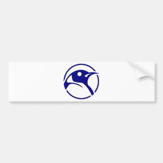 Imagem do linux do pinguim adesivo para carro