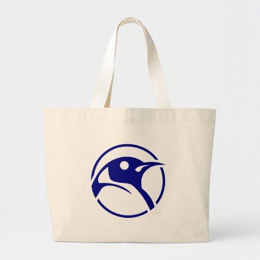 Imagem do linux do pinguim bolsas para compras