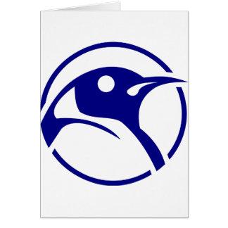 Imagem do linux do pinguim cartoes