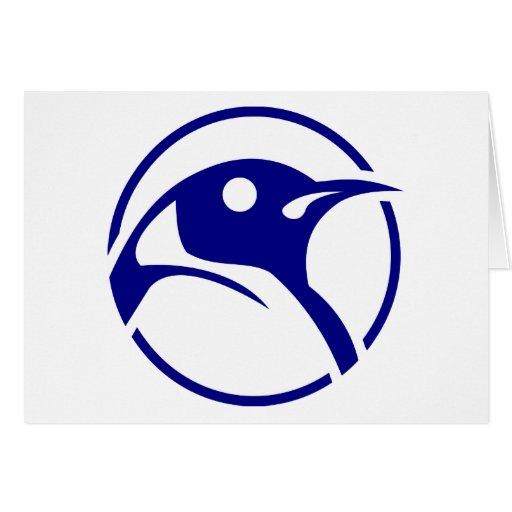 Imagem do linux do pinguim cartões