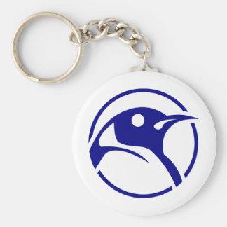 Imagem do linux do pinguim chaveiro