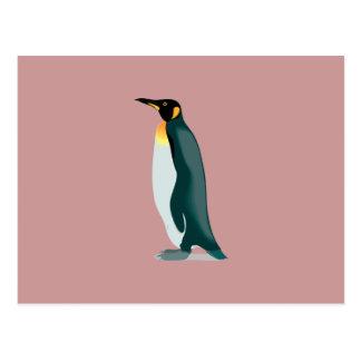imagem do linux do pinguim cartões postais