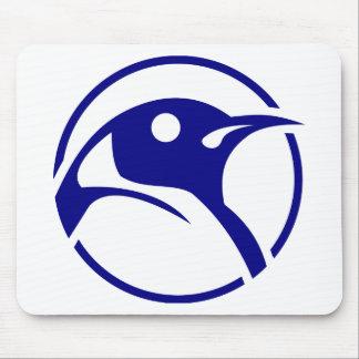 Imagem do linux do pinguim mousepad