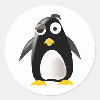 Imagem do linux do tux do pinguim adesivo