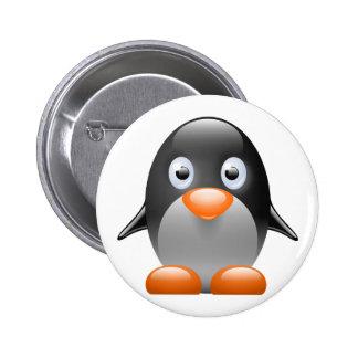 imagem do linux do tux do pinguim botons