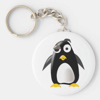 Imagem do linux do tux do pinguim chaveiro
