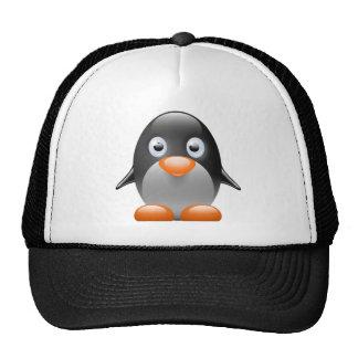 imagem do linux do tux do pinguim bonés