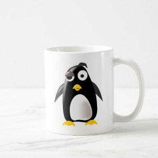 Imagem do linux do tux do pinguim canecas