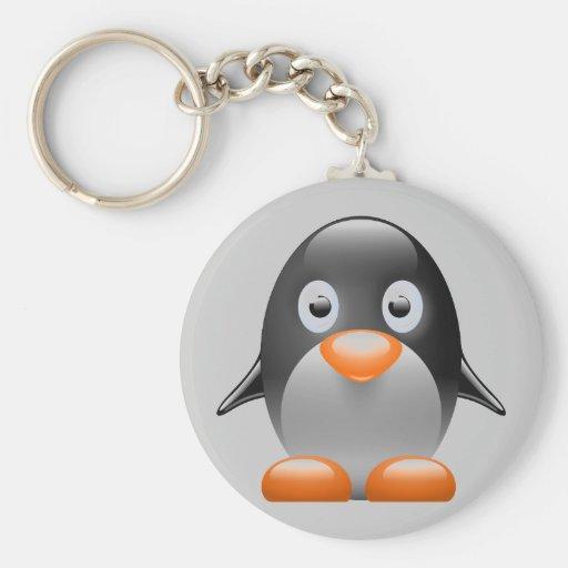 imagem do linux do tux do pinguim chaveiros