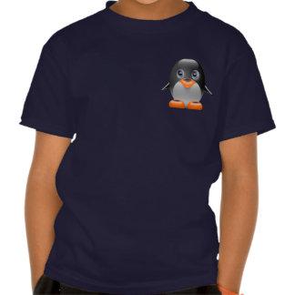 imagem do linux do tux do pinguim tshirts