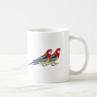 Imagem do papagaio para a caneca branca clássica