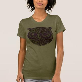 imagem do pássaro da coruja t-shirt