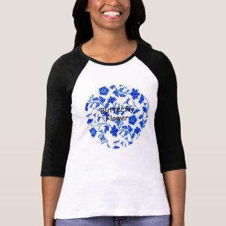 Imagem do t-shirt do Raglan da luva