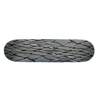 Imagem do telhado de pedra típico, cumes franceses skate