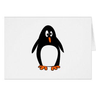 Imagem do tux do linux do pinguim cartoes