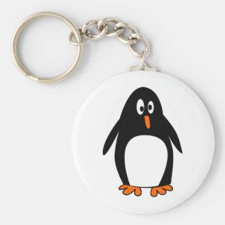 Imagem do tux do linux do pinguim chaveiro