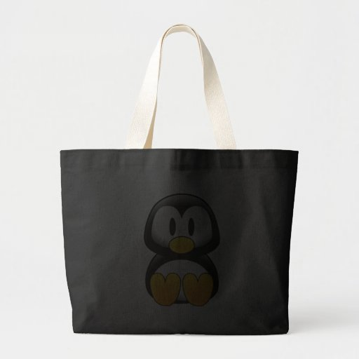 Imagem do tux do pinguim bolsas de lona