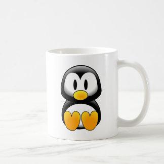 Imagem do tux do pinguim canecas
